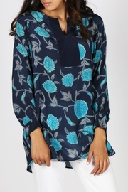 Anupamaa Navy Anjali Top - Front full body