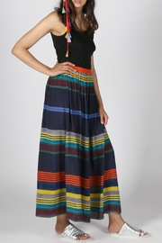 Anupamaa Navy Gajari Skirt - Product Mini Image