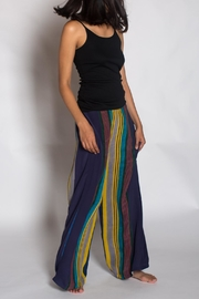 Anupamaa Silk Navy Palazzo Pants - Product Mini Image