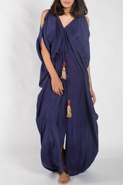Anupamaa Navy Tusha Dress - Front cropped