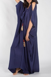 Anupamaa Navy Tusha Dress - Front full body