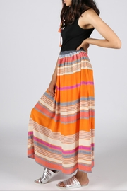 Anupamaa Orange Gajari Skirt - Product Mini Image