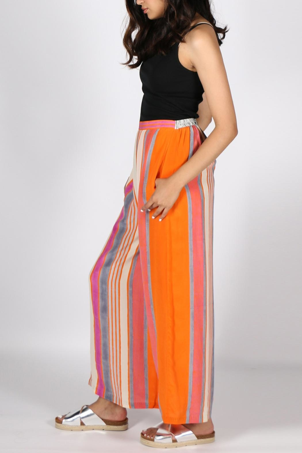 Anupamaa Orange Palazzo Pant - Back Cropped Image