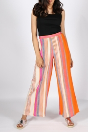 Anupamaa Orange Palazzo Pant - Front full body