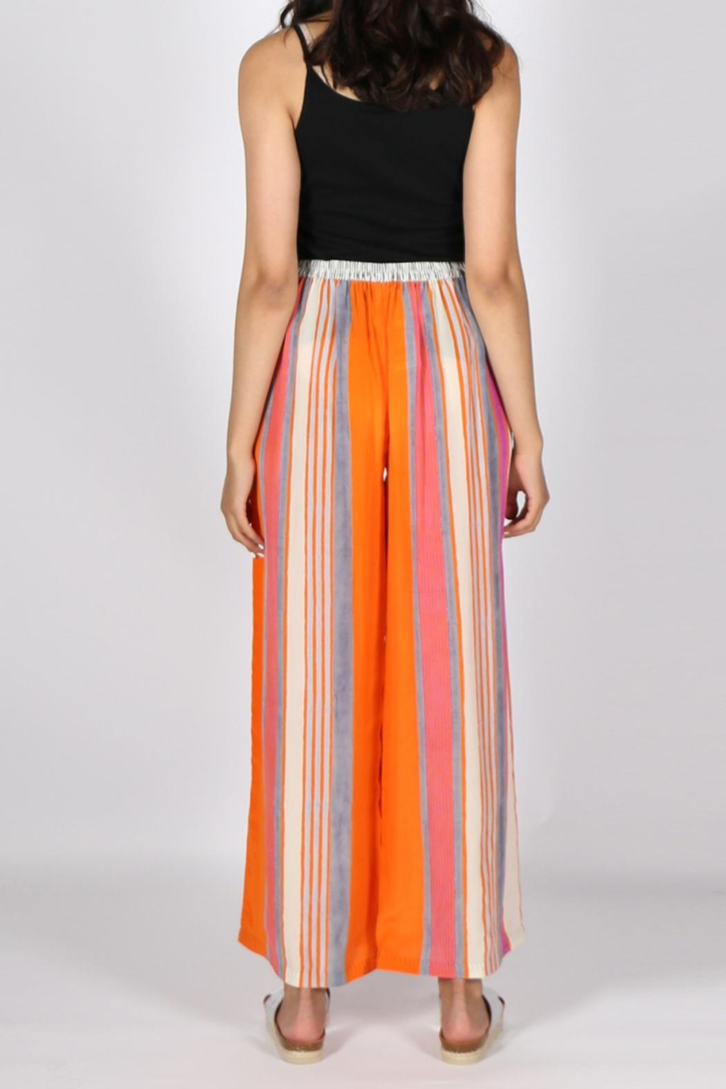 Anupamaa Orange Palazzo Pant - Side Cropped Image