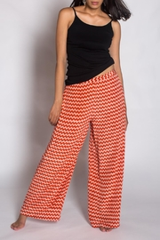 Anupamaa Silk Peach Palazzo Pant - Product Mini Image
