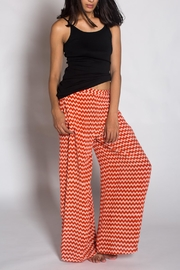 Anupamaa Silk Peach Palazzo Pant - Side cropped