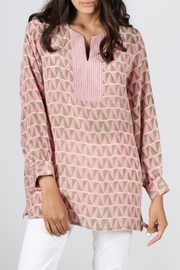 Anupamaa Pink Anjali Top - Front full body
