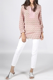 Anupamaa Pink Anjali Top - Back cropped