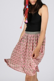Anupamaa Pink Gajari Skirt - Product Mini Image