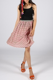 Anupamaa Pink Gajari Skirt - Front full body