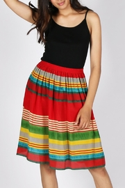 Anupamaa Red Gajari Skirt - Product Mini Image