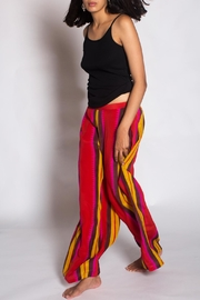 Anupamaa Red Palazzo Pant - Side cropped
