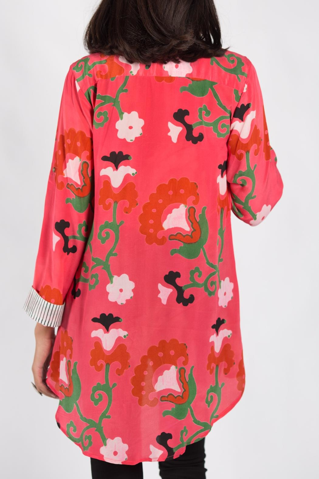 Anupamaa Salmon Agni Shirt - Back Cropped Image