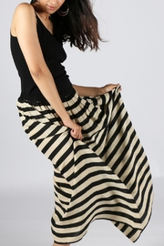 Anupamaa Stripe-Black Gajari Skirt - Product Mini Image