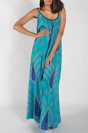 Anupamaa Turquoise Maxi Dress - Product Mini Image
