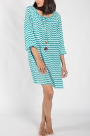 Anupamaa Turquoise Taj Dress - Product Mini Image