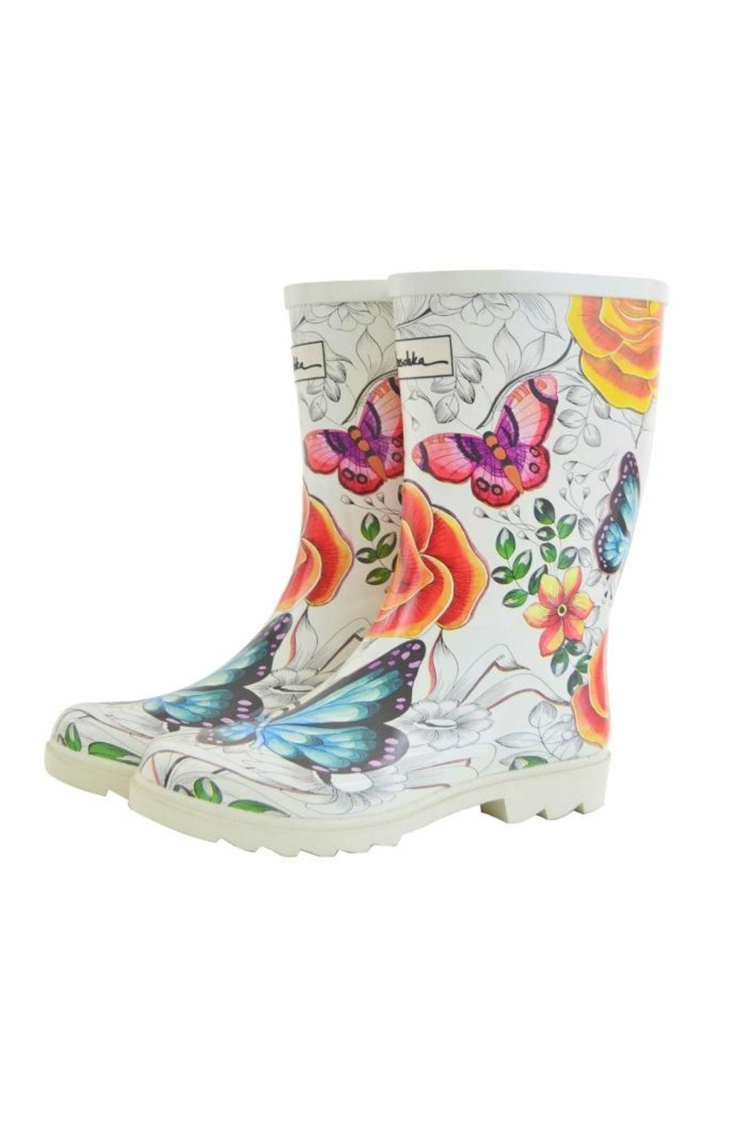 Anuschka Rain Boots - Front Cropped Image