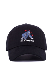 ANY MEMES Heart Harambe Hat - Front cropped
