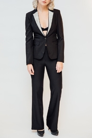 Any Old Iron Rhinestone Lapel Suit - Front cropped