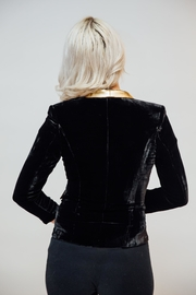 Any Old Iron Velvet Bowie Jacket - Side cropped