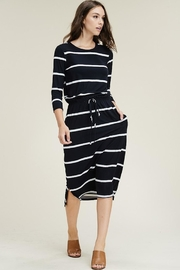 Reborn J Anywhere Stripes Midi - Product Mini Image