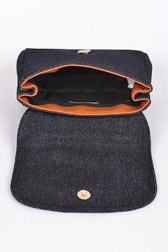 Anzell Denim Dnd Clutch - Alternate List Image