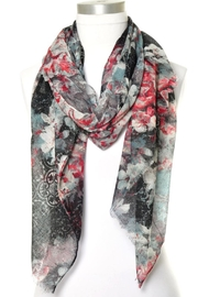 Anzell Floral Scarf - Front cropped