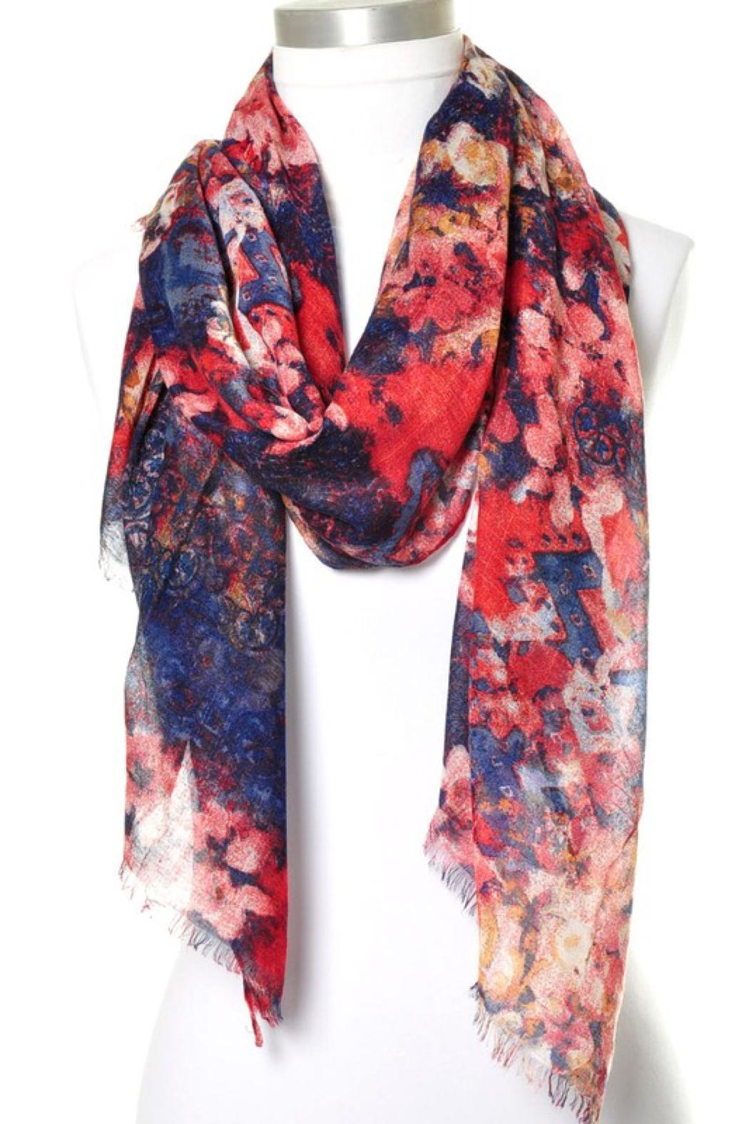 Anzell Floral Scarf - Main Image