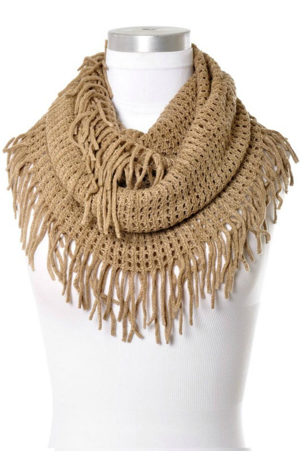 Anzell Infinity Tassel Scarf - Main Image