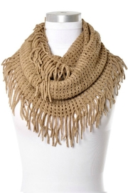 Anzell Infinity Tassel Scarf - Front cropped