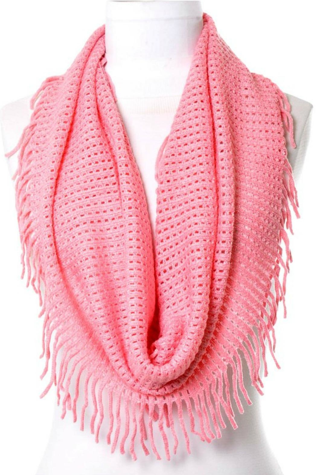Anzell Infinity Tassel Scarf - Front Cropped Image