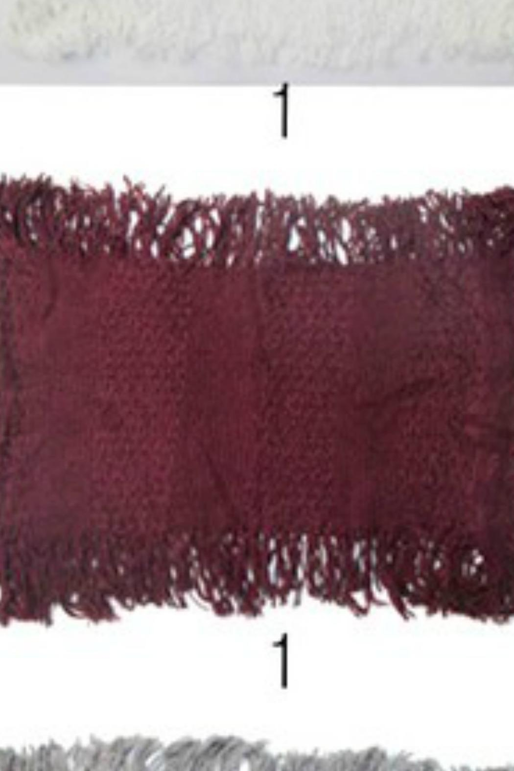 Anzell Knit Infinity Scarf - Front Cropped Image