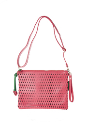 Anzell Strawberry Clutch - Front full body