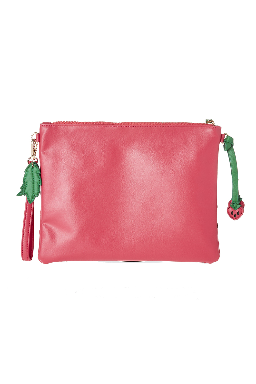 Anzell Strawberry Clutch - Side Cropped Image