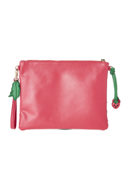 Anzell Strawberry Clutch - Side cropped