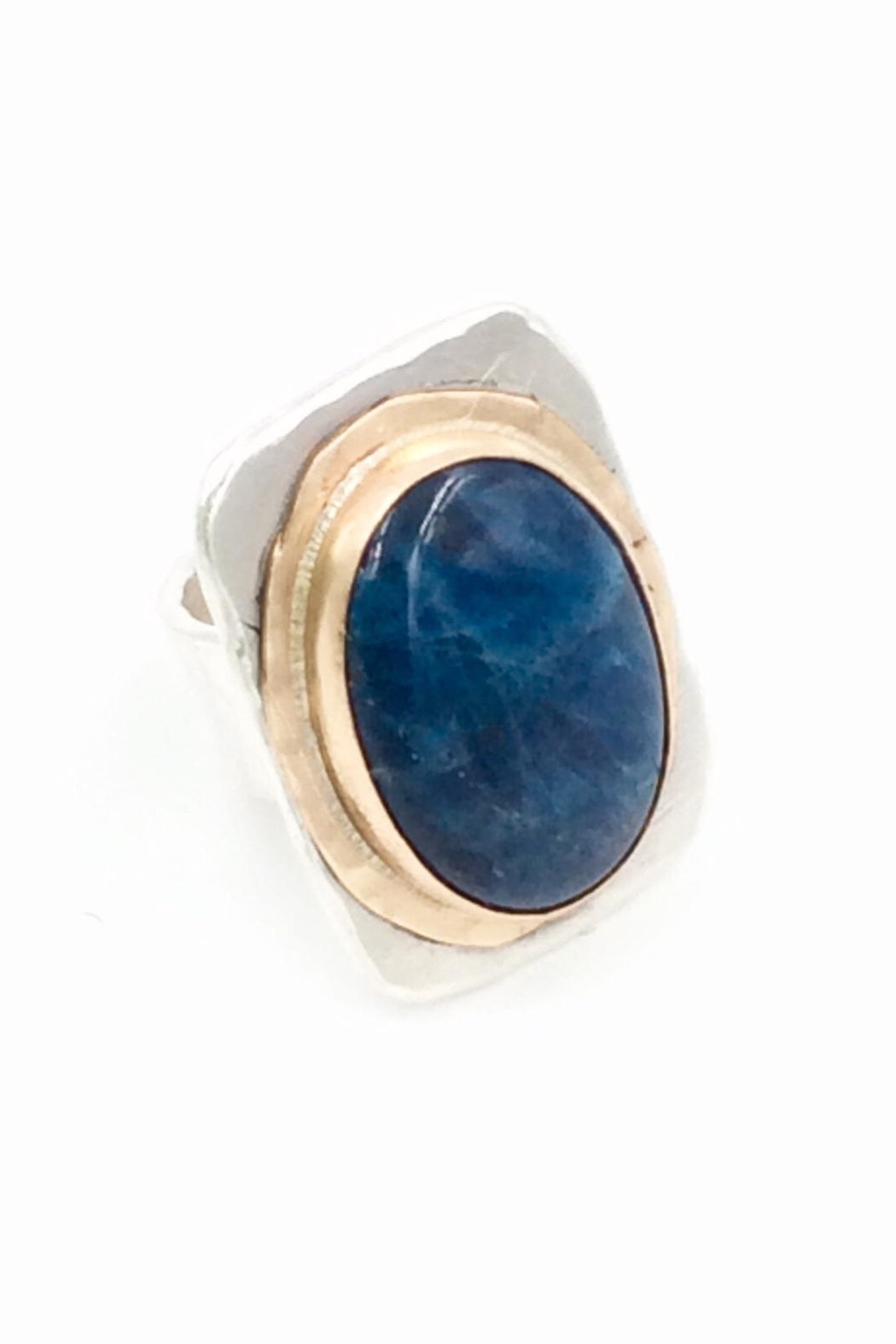 LJ Jewelry Designs Apatite Ring - Front Full Image