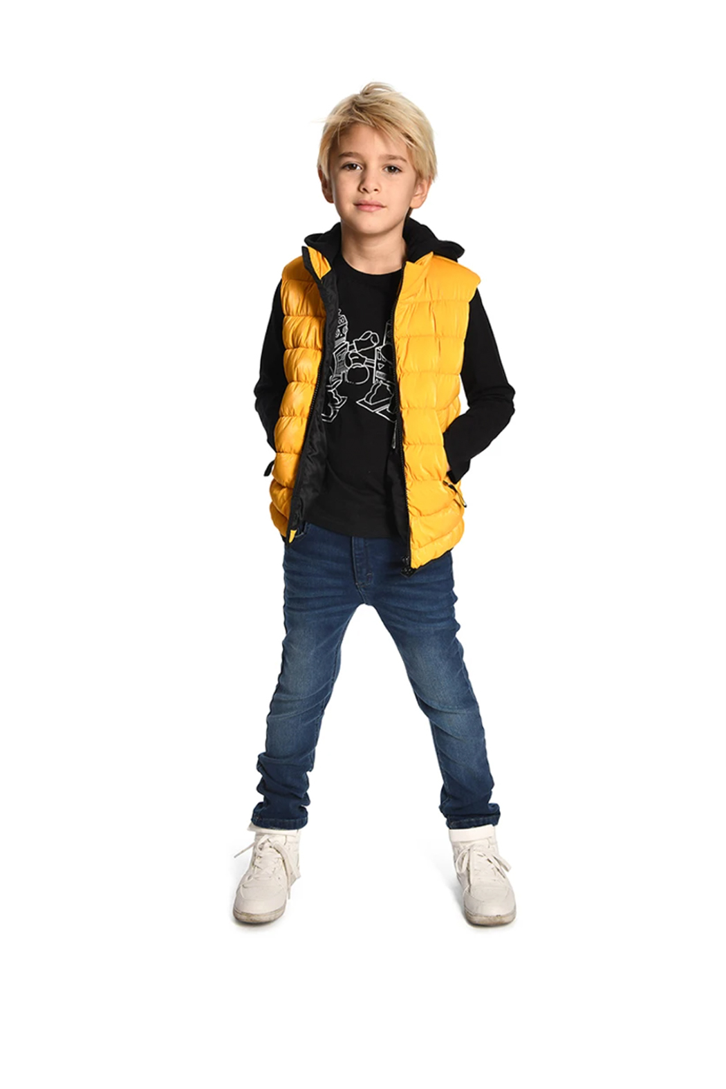 Appaman Apex Puffer Vest - Side Cropped Image