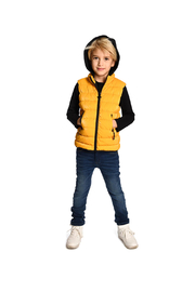 Appaman Apex Puffer Vest - Back cropped