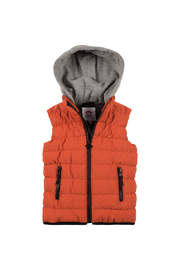 Appaman Apex Puffer Vest Harvest - Front cropped