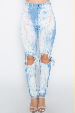 Shoptiques Product: Paint Splash Jeans
