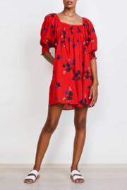 Apiece Apart Inacea Ballon Sleeve Dress - Front cropped