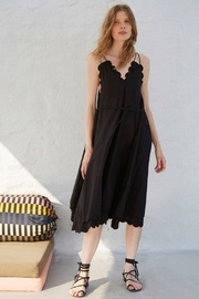 Apiece Apart Mirage Scallop Dress - Product Mini Image