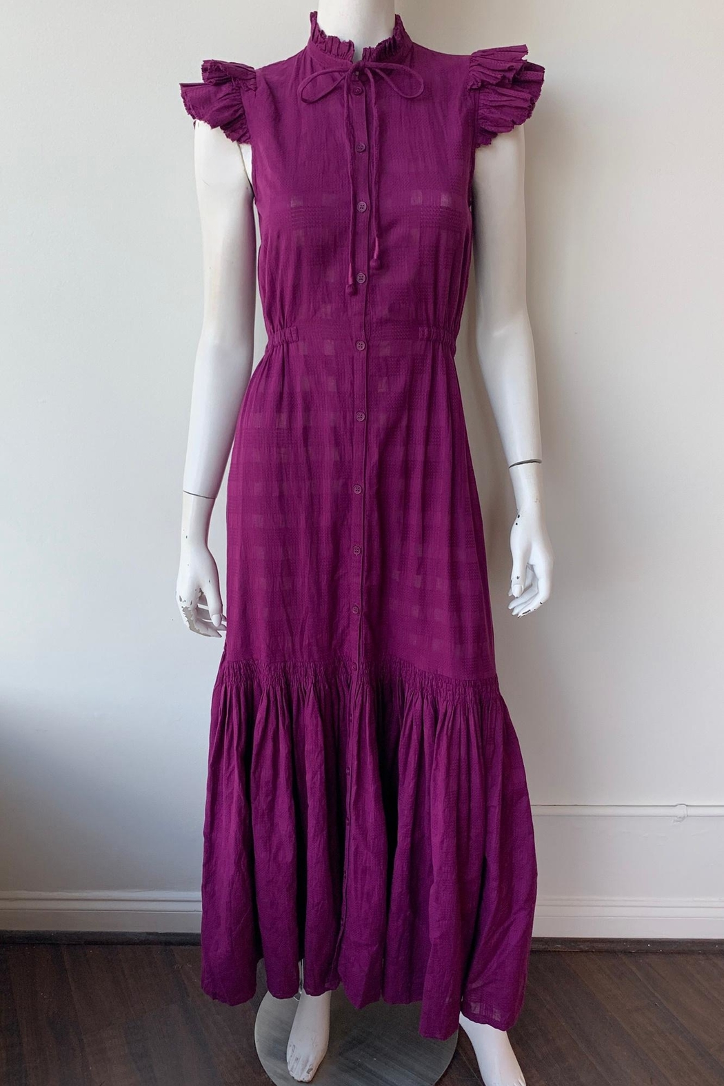Apiece Apart Pacifica Maxi Dress - Side Cropped Image