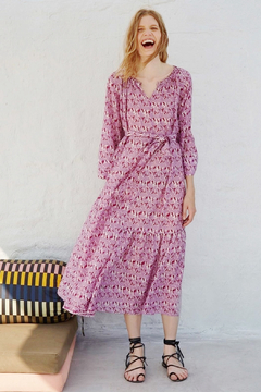 Apiece Apart Stella Shirred Dress - Product List Image