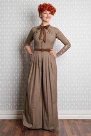 Vintage High Waisted Trousers, Sailor Pants, Jeans Apolline Vintage-Style Jumpsuit $139.00 AT vintagedancer.com