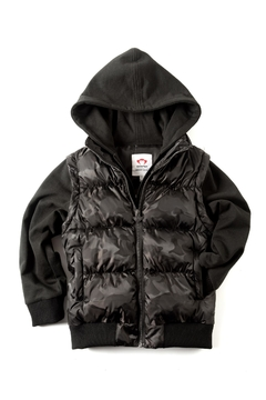 Shoptiques Product: Black Hooded Jacket