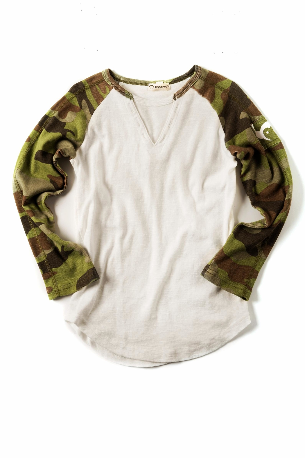 f10c25e5 Appaman Camo Baseball Tee from Ohio by Rory Maxwell Boutique ...