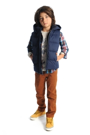 Appaman Navy Puffer Vest - Product Mini Image