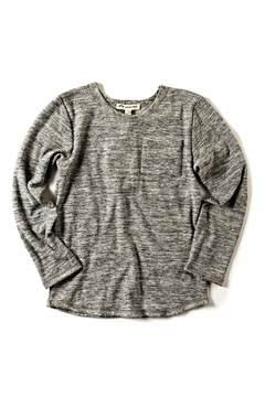 Shoptiques Product: Grey Lightweight Sweater